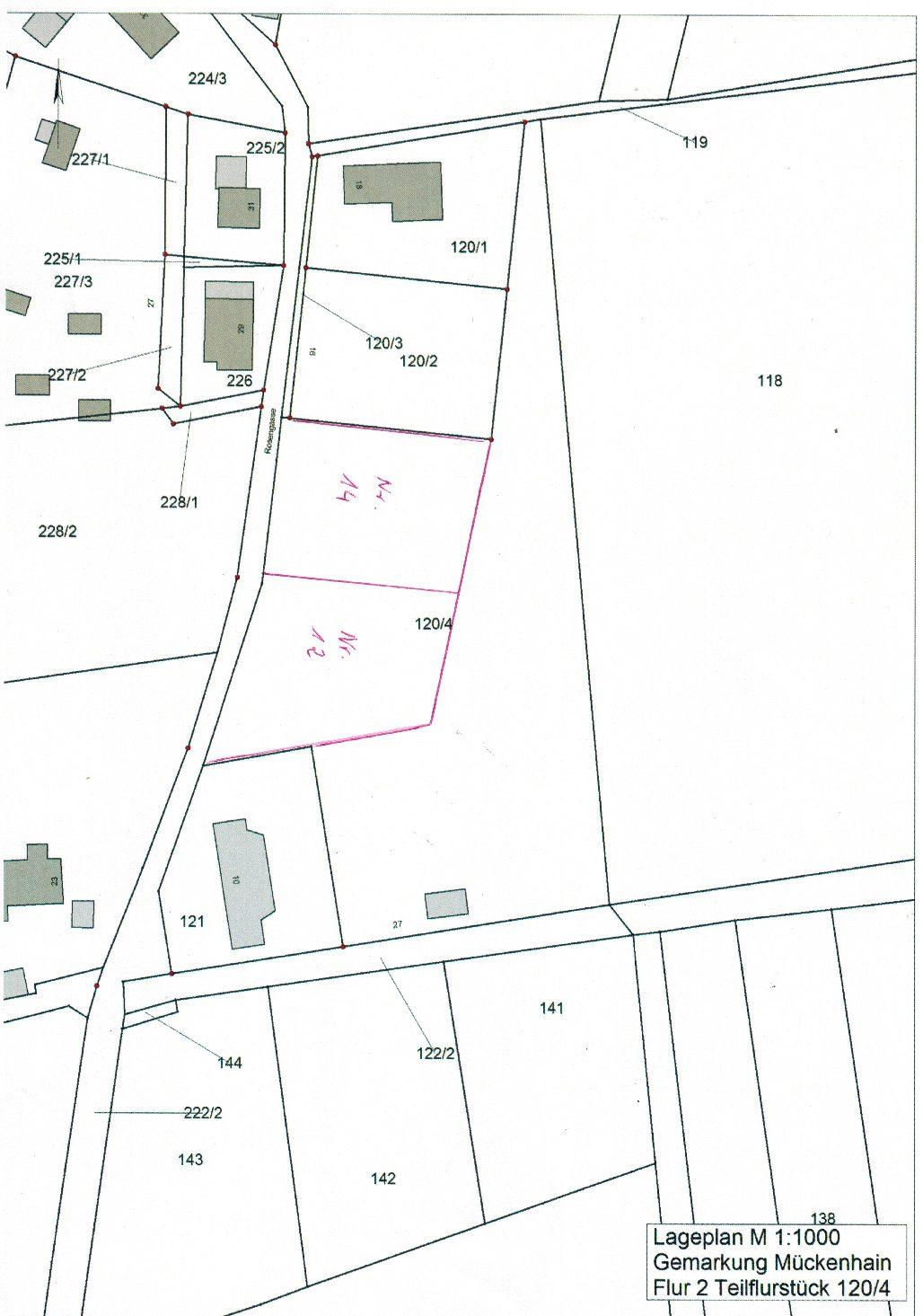 Verkauf von Bauland in der Gemeinde Horka