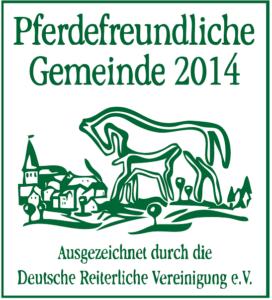 Pferdefreundliche Gemeinde 2014